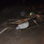 Două căruțe au fost spulberate după o coliziune cu un autovehicul la Pâclișa