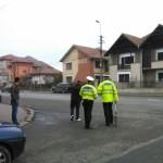 Coliziune între o motocicletă și un autoturism la intersecția dintre strada Macului cu B-dul. 1 Decembrie din Alba Iulia