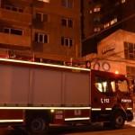 Intervenție a pompierilor din Alba Iulia, pentru stingerea unui incendiu izbucnit la bucătăria unui apartament situat pe strada Tudor Vladimirescu