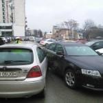 Accident de circulație la Alba Iulia provocat de un minor inconștient