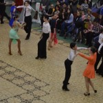 """Peste 250 de perechi au încins ringul de dans în cadrul Concursului Național de Dans Sportiv """"Cupa Cetății 2015"""""""