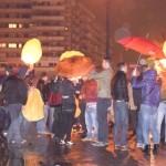 Ora Pământului marcată la Alba Iulia prin lansări de lampioane din Parcul Unirii