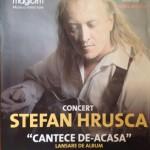 """Ștefan Hrușcă își lansează albumul """"Cântece de-acasă"""" pe 20 mai, la Casa de Cultură a Sindicatelor din Alba Iulia"""