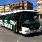 Astăzi STP a testat la Alba Iulia, pe linia 103, un autobuz electric