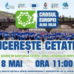 În 8 mai are loc la Alba Iulia cea de-a doua ediție a Crosului Europei
