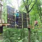 Copii vor avea mâine access gratuit în Parcul de Aventură din Alba Iulia