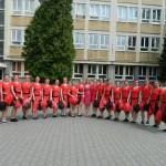 """Cupa Majoretelor de la Colegiul Militar """"Mihai Viteazul"""" din Alba Iulia a fost adjudecată în acest an de elevele din clasa a X-a"""