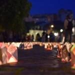 """Atmosferă de basm creată de cercetașii din Alba Iulia la """"Festivalul Luminii"""""""
