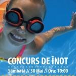 Sâmbătă 30 mai: Concurs de înot pentru copiii din cadrul complexului olimpic din Alba Iulia