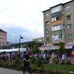 Sute de persoane au participat la mitingul de la Alba Iulia împotriva defrișărilor masive de pădure