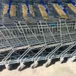 Un albaiulian s-a ales cu dosar penal după ce a sustras 3 cărucioare de la un supermarket