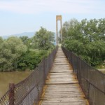 Investiție de un milion de euro pentru înlocuirea punții pietonale peste Râul Mureș de la Șeușa