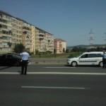 Femeie de 50 de ani acroșată de un autoturism în timp ce traversa strada prin loc nepermis, la Alba Iulia