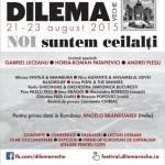 Astăzi începe festivalul DILEMA VECHE de la Alba Iulia. Vezi programul zilei
