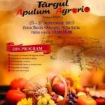 Cea de-a XXIV-a ediţie a Târgului APULUM AGRARIA va avea loc în perioada 25-27 septembrie. Vezi programul