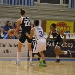 Echipa lui Miroslav Popov s-a impus greu în duelul studenţesc: CSU Alba Iulia – Universitatea Cluj 59-52