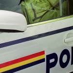 Bărbat de 32 de ani din Mediaș surprins de polițiștii din Sântimbru la volanul unui autoturism furat din Bulgaria