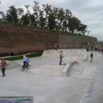 Tinerii amatori de sporturi extreme și-au dat întâlnire weekend-ul trecut la Skatepark-ul din Alba Iulia