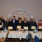 Ieri la Ciugud au fost aniversate familiile din comună care au împlinit 50 de ani de la căsătorie