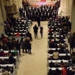 Catedrala Romano-Catolică din Alba Iulia a fost astăzi gazda unui concert extraordinar susținut de Corala Armonia