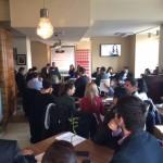 50 de persoane au participat la dezbaterea organizată de PES activists România, la Alba Iulia