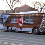 Programul de circulație al autobuzelor STP în Alba Iulia pe perioada Sărbătorilor de Iarnă