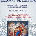 """Corala """"Sfânta Treime"""" va susține astăzi un Concert de colinde la Catedralei Reîntregirii, din Alba Iulia"""