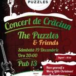 "Concert de Crăciun susținut de ""The Puzzles&Friends"" la Pub 13, din Alba Iulia"