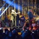 Circa două mii de persoane au luat parte la concertul trupei Voltaj din Alba Iulia, de Ziua Națională a României