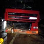 Accident mortal la ieșirea din Alba Iulia către Sebeș după ce șoferul unui TIR a intrat pe contrasens și s-a izbit de un autoturism