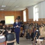 """Ziua Intențională a Nonviolenţei în Şcoli marcată de IPJ Alba în cadrul Liceului de Arte """"Regina Maria"""", din Alba Iulia"""