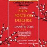 """Mâine, 1 martie 2016, la Colegiul Tehnic """"Apulum"""" din Alba Iulia se organizează Ziua porților deschise"""
