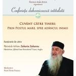 Marți, 29 martie: Părintele Arhimandrit Zaharia Zaharou va conferenţia, la Alba Iulia
