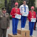 """Elevi ai Colegiului """"Mihai Viteazul"""" din Alba Iulia s-au clasat pe podium la campionatul militar de orientare, cros, șah și minifotbal"""