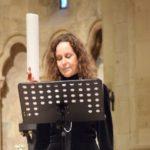 """Valérie Villemin Cioloș a cântat la Catedrala Romano-Catolică din Alba Iulia pentru """"Cumințenia Pământului"""""""