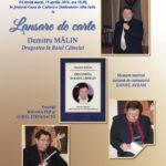 """Mâine, 19 aprilie: Dumitru Mălin își lansează volumul """"Dragostea în Raiul Câinelui"""", la Casa de Cultură a Sindicatelor din Alba Iulia"""