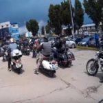 Marș de solidaritate a motocicliștilor din Alba Iulia cu o tânără grav ranită într-un accident petrecut pe DN7