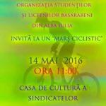 Sâmbătă, 14 mai: Tinerii basarabeni din Alba Iulia organizează un marș pe biciclete pentru promovarea și încurajarea transportului ecologic