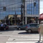 Bărbat de 76 de ani accidentat pe o trecere de pietoni de pe Calea Moţilor din Alba Iulia