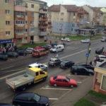 Tânăr lovit de un autoturism în apropierea unei treceri de pietoni situată pe strada Republicii, din Alba Iulia
