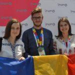 """Trei elevi de la Colegiul Național """"HCC"""" din Alba Iulia au obținut medalia de argint la faza internațională a concursului InfoMatrix"""