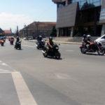 """Motocicliști din toată țara sosiți la """"Bikers Party Alba Iulia 2016"""" au participat la turul municipiului reședință de județ"""