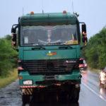 O persoană a decedat pe șoseaua de centură a municipiului Alba Iulia, după ce un autoturism a intrat în coliziune cu un auto-trailer