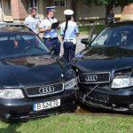 Femeie de 67 de ani, rănită după un impact între două autoturisme petrecut pe strada Nicolaie Bălcescu, din Alba Iulia