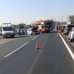 Femeie rănită în urma unui accident rutier petrecut pe DN 1, la ieșirea din Alba Iulia, și cauzat de neacordarea de prioritate