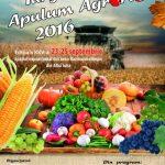 Între 23 și 25 septembrie 2016, are loc la Alba Iulia cea de-a XXV-a ediţie a Târgului APULUM AGRARIA