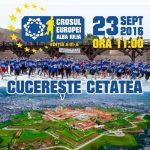 Mâine, 23 septembrie 2016, are loc la Alba Iulia cea de-a III-a ediție a Crosului Europei