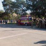 """Exercițiu de simulare a unui incendiu la Colegiul Național Militar """"Mihai Viteazul"""" din Alba Iulia"""