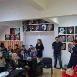 """Campania """"Săptămâna Prevenirii Criminalităţii"""", desfășurată de IPJ Alba, a continuat cu activităţi dedicate prevenirii victimizării minorilor la Liceul de Arte """"Regina Maria"""" din Alba Iulia"""