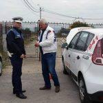 Acțiune comună a polițiștilor rutieri și a reprezentanților RAR de verificare a taximetriştilor din Alba Iulia